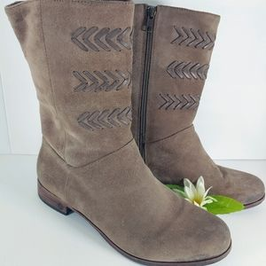"""Ugg """"Cailyn"""" Suede Leather Calf Boot Sz.9.5"""